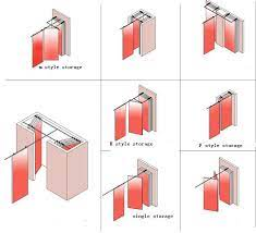 movable folding partitions wall