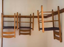 Shaker Style Coat Rack Shaker chairs Gauntt Chairs Pinterest 27