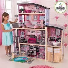 barbie size dollhouse furniture set. Fancy Barbie House Furniture Doll KidKraft Play Set Size Dollhouse