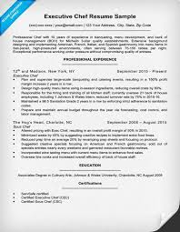 Gallery Of Resume Killer Resume For Chefs Chef Resume Objective