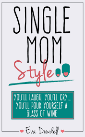 custom book cover designed by gatekeeper press for single mom style