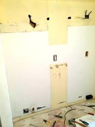 fix hole in drywall holes ceiling small secure a backing board on the inside of fixing hole