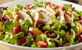 grilled chicken salad with strawberries. Perfect Grilled Grilled Chicken U0026 Strawberry Salad In With Strawberries L