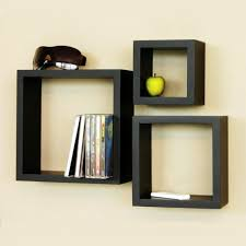 wooden cube wall shelves set of 3 wall shelves home18 inside dimensions 1000 x 1000