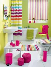 25 Colorful Bathrooms To Inspire You This WeekendColorful Bathroom