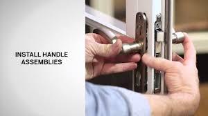 handle replacement on andersen full lite self storing storm doors you
