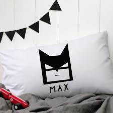 Personalised 'Batman' Pillow Case - bedroom