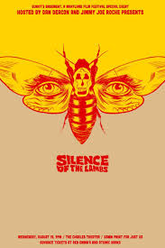 best ideas about silence film atilde a film d horreur alex fine heres another guy that paints these new posters for classic movies what an awesome gift to film fans the silence of the lambs