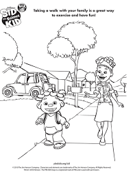 Small Picture Sid The Science Kid Coloring Pages AZ Coloring Pages Science