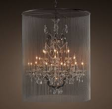 bring elegant beauty with large chandeliers