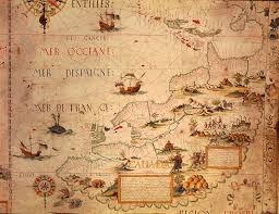 sea monster world map.  Monster Map Of Canada Pierre Desceliersu0027 World 1550 To Sea Monster I