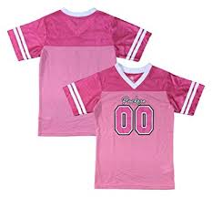 Green Amazon Clothing Bay Packers com Youth Pink Jersey Dazzle 00 Logo Girls