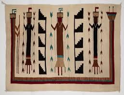 Traditional navajo rugs Navajo Indian Barbara Boulder Weekly Collections Of Navajo Rugs Tell Stories Of Life Myth Boulder Weekly
