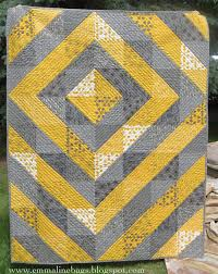 Emmaline Bags: Sewing Patterns and Purse Supplies: A Modern ... & If you would like to make a modern quilt that is quick and VERY easy to put  together, this is a great one to try. I've made this quilt with a quick ... Adamdwight.com