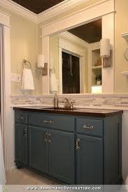bathroom backsplash. Hallway Bathroom Remodel: Before \u0026 After Backsplash U