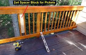 wood deck how to build wood deck railing superb diy deck railing 42 build deck railing