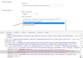 Create Sharepoint Site Template Create Spweb In Office 365 Using Custom Site Template