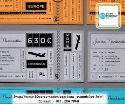 Event Ticket Printing Software Event Ticket Printing Printing Malaysia Fifty Percent Print