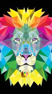 lion art wallpaper group 71