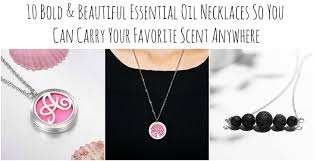 essential oil necklaces collage jpg
