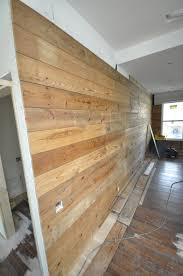 Reclaimed Wood Walls  Tips For Installing Matt Risinger - Finish basement walls without drywall
