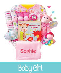 Welcoming Baby Girl New Baby Gifts Welcome Baby Baskets For New Baby Boy Or New Baby