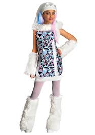 monster high abbey bominable s costume kids costumes monster costumes
