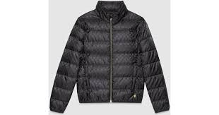 Gucci Gg Jacquard Quilted Nylon Jacket in Black for Men | Lyst &  Adamdwight.com