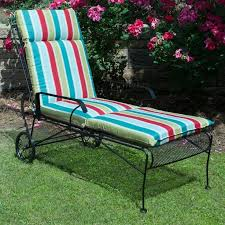 plantation patterns hampton bay l stripe outdoor chaise lounge cushion available at the home depot