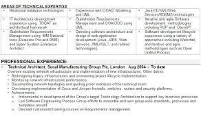 Interpreter CV Sample