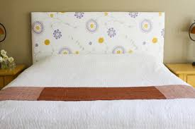 Cheap Diy Headboards How To Make A Fabric Headboard Home Hold Design Reference