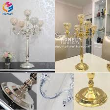 china wedding party candleholder flower stand acrylic crystal chandelier centerpieces china wedding centerpiece crystal centerpiece