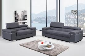 italian leather furniture stores. Amazing Modern Grey Italian Leather Sofa Set With Adjustable Headrest In Couches Furniture Stores
