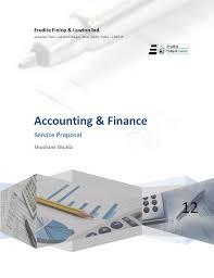 erudite finlop lawton service proposal format bookkeeping proposal