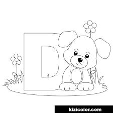 One of such methods are coloring pages with english letters and alphabet. Alphabet Letter D Kizi Free 2021 Printable Super Coloring Pages For Children Letter D Super Coloring Pages