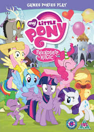 my little pony friendship is magic games ponies play dvd