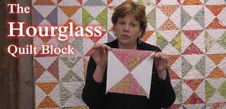 The Hourglass Quilt Block - Learn to Quilt! - YouTube &  Adamdwight.com