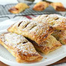 puff pastry apple turnovers from