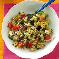 Light Spring Dinners Spring Greek Pasta Salad