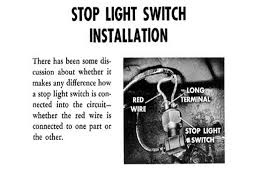 old mopar information plymouth alignment specs · plymouth stoplight switch wiring