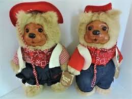 """16"""" Limited Edition Raikes Bears Bonnie and Sheriff Jesse With ..."""