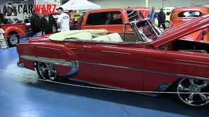 1954 Chevrolet Convertible At The Speed And Custom Car Show London ...