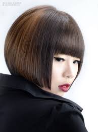 Stacked Bob Hair Style asian hair cut into a smooth and chick stacked bob 3211 by wearticles.com