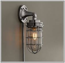 give your home a new look with steampunk wall sconce