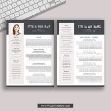 Modern 2020 Resume Template 2019 2020 Pre Formatted Resume Template With Resume Icons