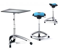 standing desk chair futuristic metal office and seats staples
