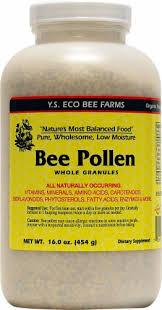 YS Eco Bee Farms Bee Pollen Whole Granules, 16 oz - Baker's