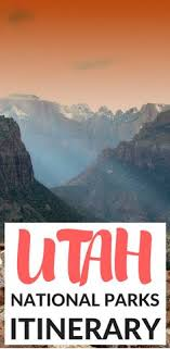 photo essay solitude in america s national parks utah  the ultimate one week itinerary exploring utah s national parks