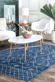 blue denim area rug moroccan nuloom blythe 8x10