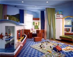 ... Kids Game Rooms Fancy Kids Playroom Idea With Awesome Boat Miniature  And Blue Throughout Kids Room ...